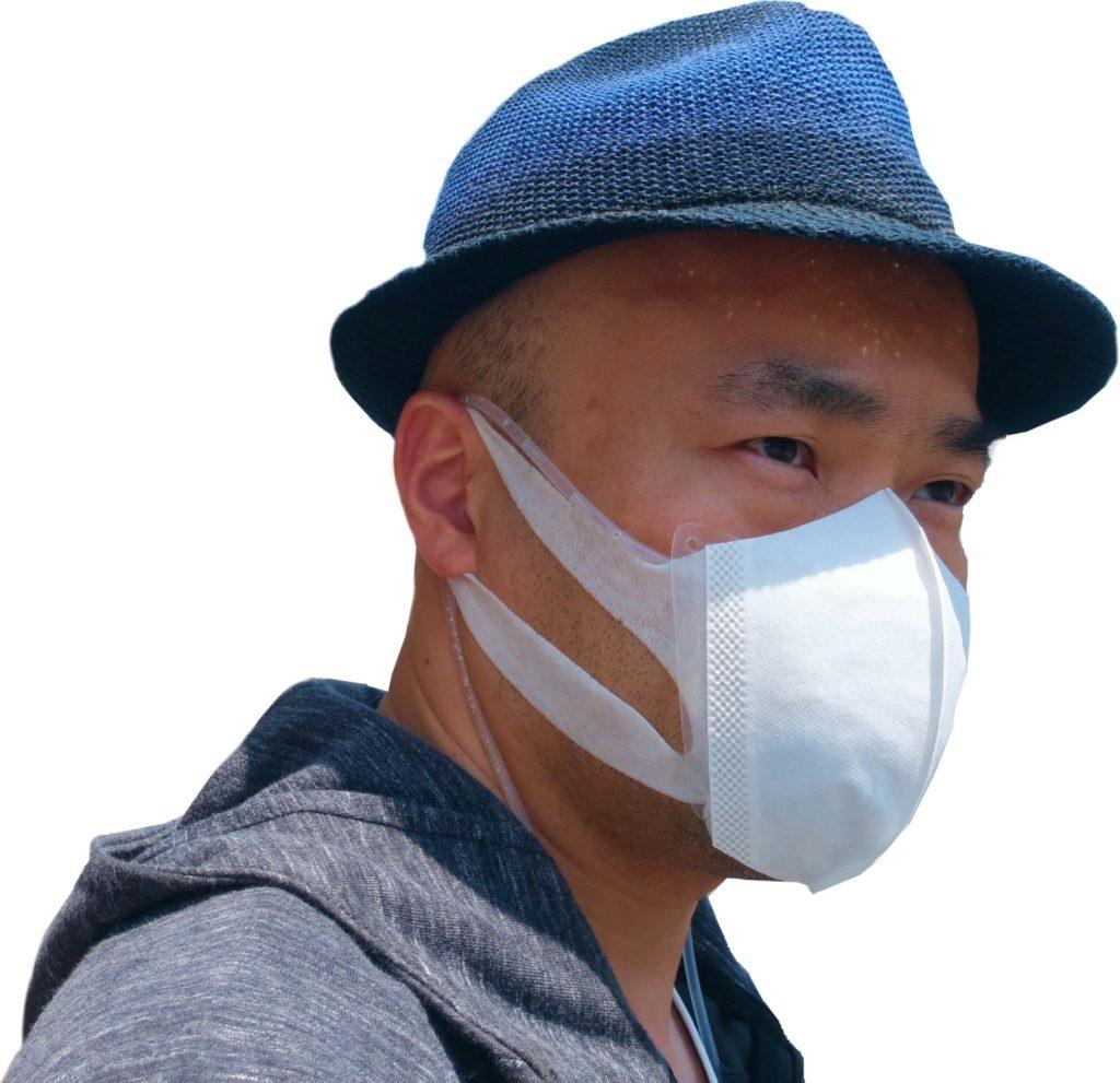 サージカルマスク用の立体マスクエアコン マスクの熱中症対策