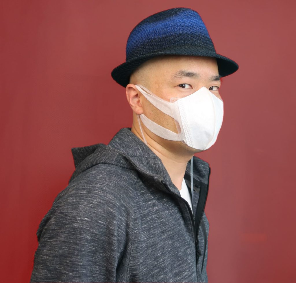 ダサくないマスク姿、でも呼吸は冷えている