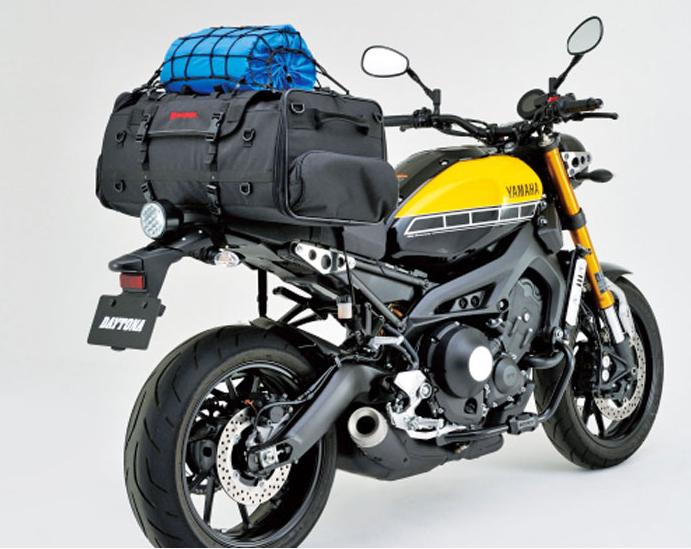 シートバッグで大容量広口タンク