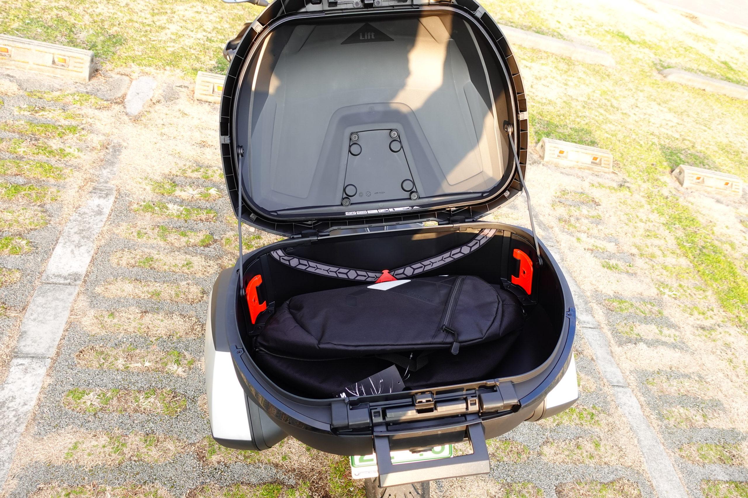 Shad SH59X Top Case Aluminium Premium One Size