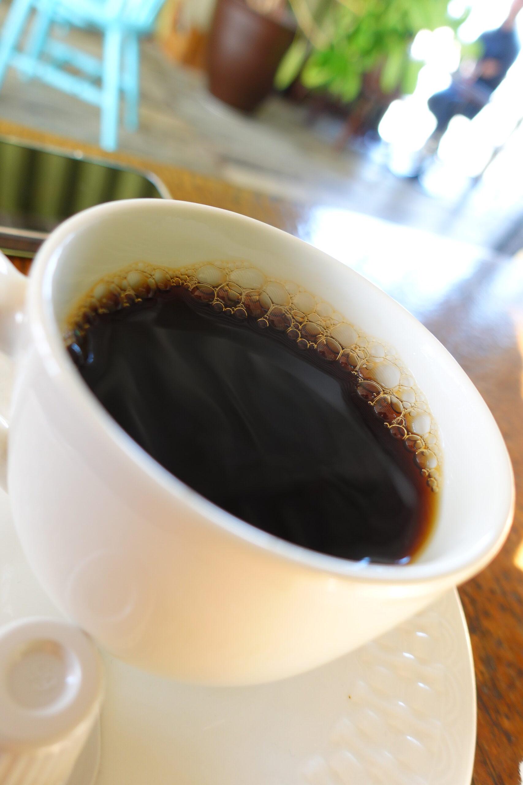 定番のブラックコーヒー