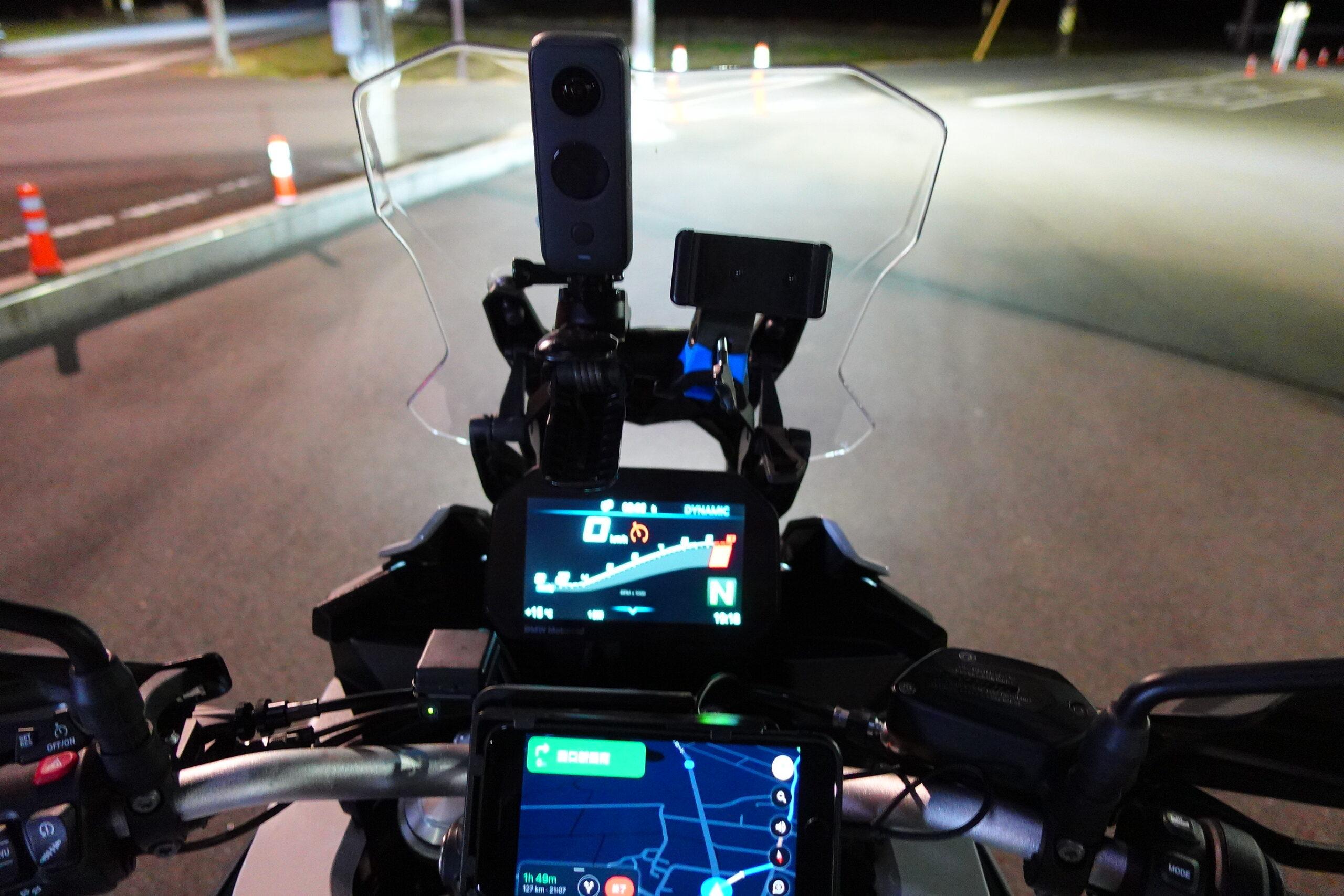 F900XRアダクティブヘッドライト