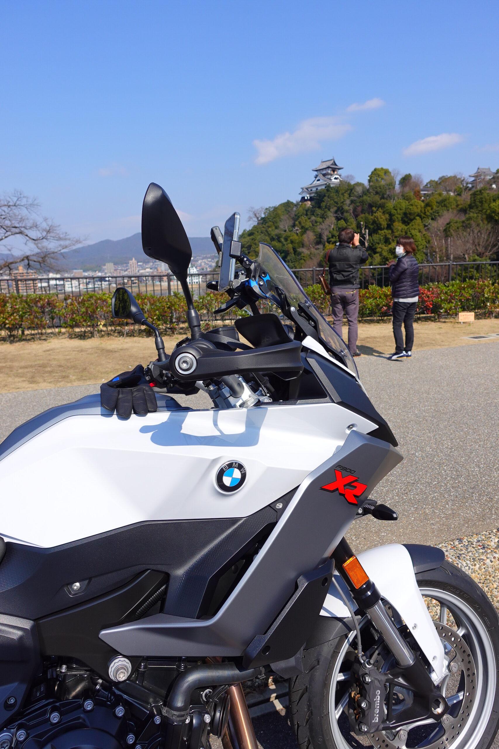 F900XR犬山城