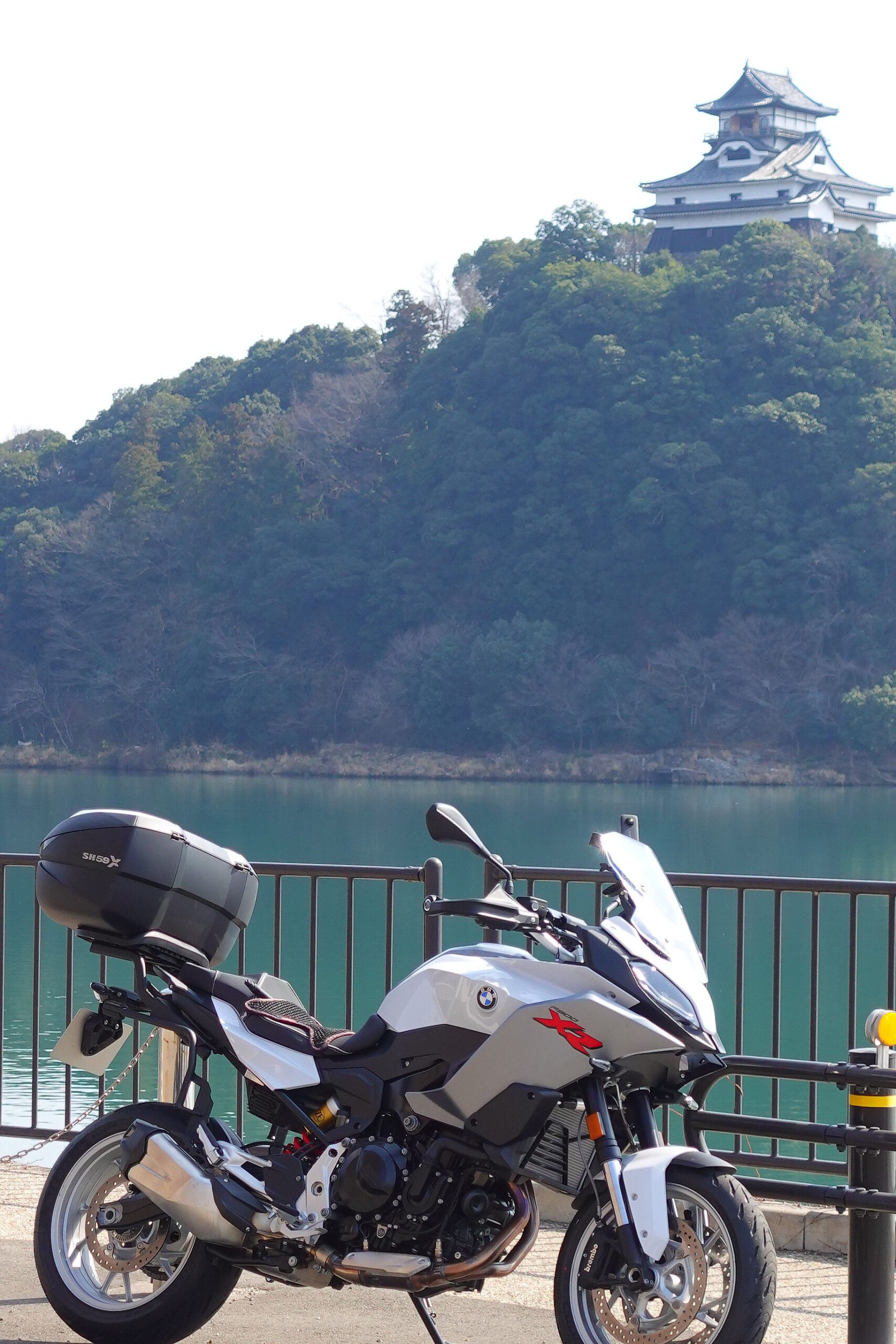 犬山城 F900XR